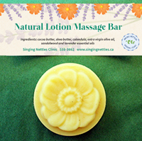 Natural Lotion Massage Bar