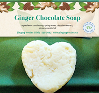 Ginger Chocolate Soap