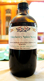 Elderberry Spice Syrup