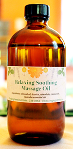 Relaxing/Soothing Massage Oil
